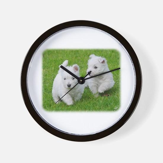 West Highland White Terrier AA060D-024 Wall Clock