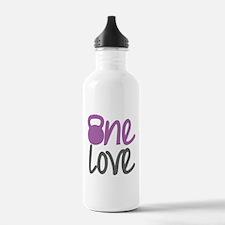 Purple One Love Kettlebell Water Bottle