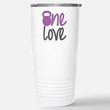 Purple One Love Kettlebell Travel Mug
