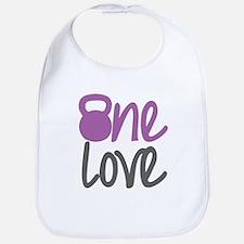 Purple One Love Kettlebell Bib