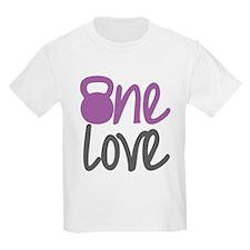 Purple One Love Kettlebell T-Shirt