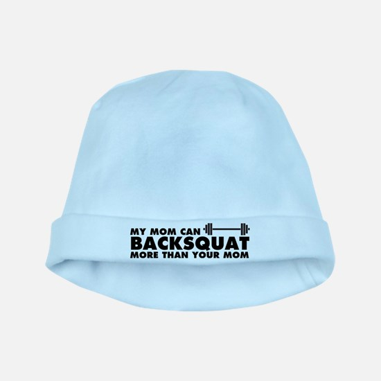 My Mom Can Backsquat baby hat
