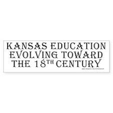 Kansas 18th Century Bumper Bumper Sticker