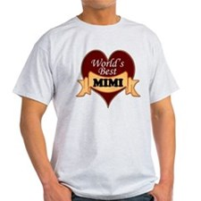 Worlds Best Mimi T-Shirt
