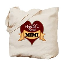 Cute World's best mimi Tote Bag