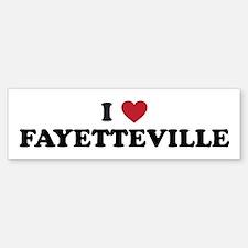 FAYETTEVILLE.png Bumper Bumper Sticker