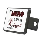 My Hero is Now My Angel Rectangular Hitch Cover
