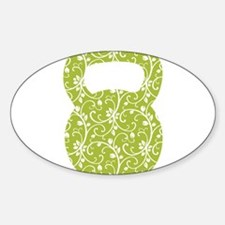 Organic Green Vine Kettlebell Decal