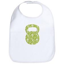Organic Green Vine Kettlebell Bib