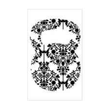 Damask Kettlebell Decal