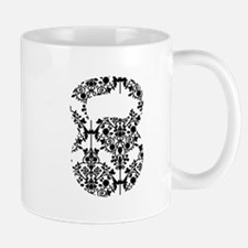 Damask Kettlebell Mug