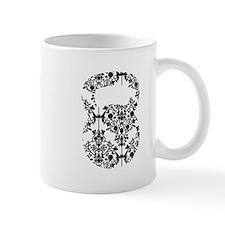 Damask Kettlebell Small Mug