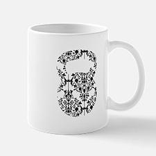 Damask Kettlebell Small Small Mug