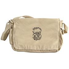 Damask Kettlebell Messenger Bag