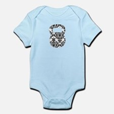 Damask Kettlebell Infant Bodysuit
