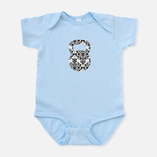 Damask Kettlebell Infant Bodysuit