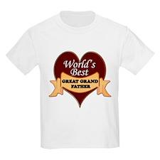 Cute Worlds best grandpa T-Shirt
