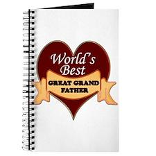 Cute World's greatest grandpa Journal