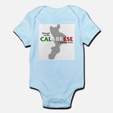 Proud to be Calabrese Infant Creeper