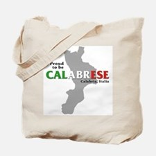 Proud to be Calabrese Tote Bag