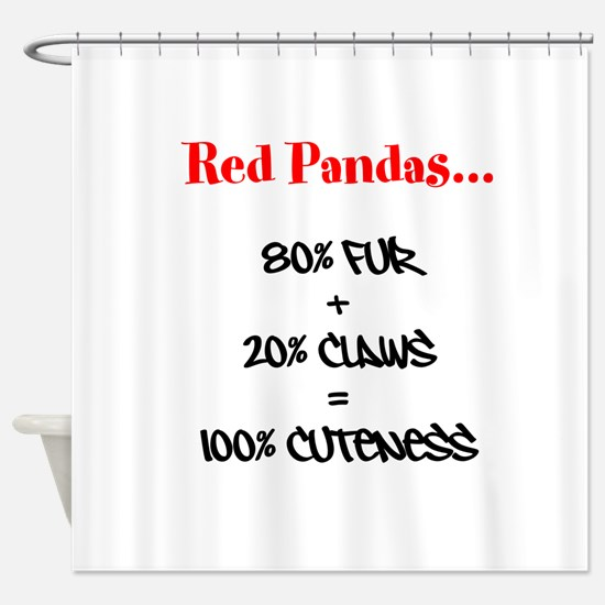 100% Cuteness Shower Curtain