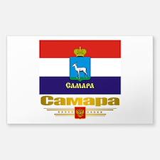Samara Flag Sticker (Rectangle)