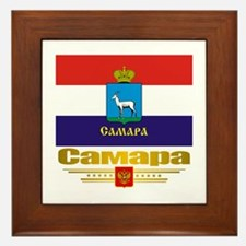 Samara Flag Framed Tile