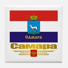 Samara Flag Tile Coaster