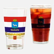 Samara Flag Drinking Glass