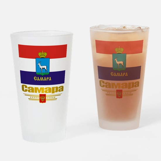 Samara Flag Drinking Glass