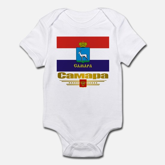 Samara Flag Infant Bodysuit
