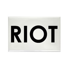 Riot Rectangle Magnet
