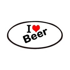 I Love Beer Patches