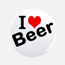 "I Love Beer 3.5"" Button"