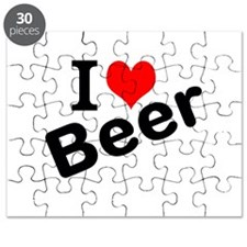 I Love Beer Puzzle