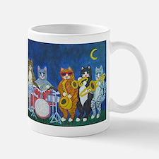 Salsa Cats at Night Mug