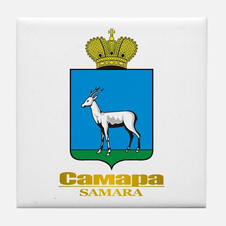Samara COA Tile Coaster