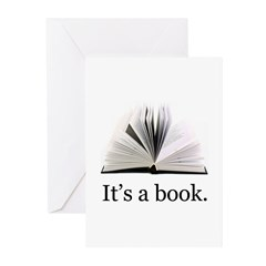 Its a book Greeting Cards (Pk of 10)