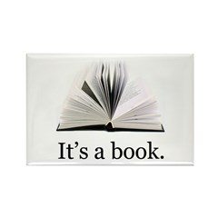 Its a book Rectangle Magnet (10 pack)