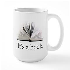 Its a book Mug
