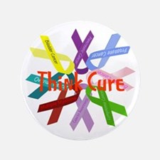 """Think Cure 3.5"""" Button"""
