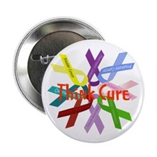 """Think Cure 2.25"""" Button"""