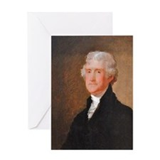 Founding Fathers: Thomas Jefferson Greeting Card