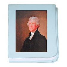 Founding Fathers: Thomas Jefferson baby blanket