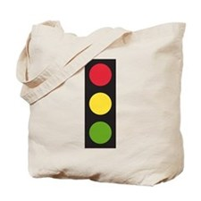 Traffic Light Tote Bag