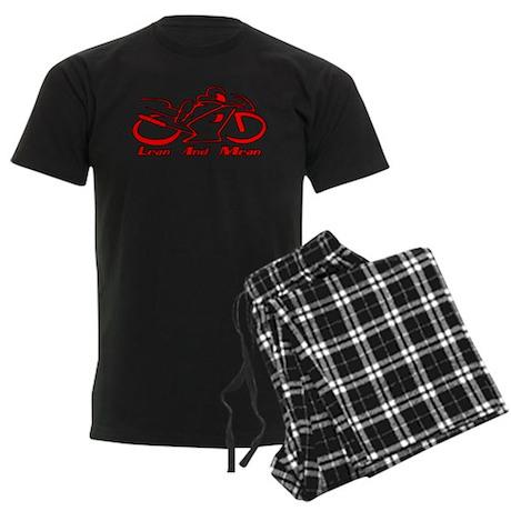 Lean And Mean Men's Dark Pajamas
