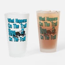 On The Trail Drinking Glass
