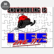 Snowmobile Life Puzzle