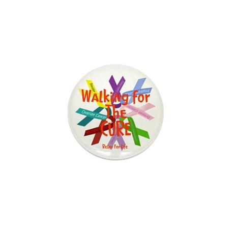 Walking for the CURE copy.png Mini Button
