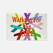 Walking for the CURE copy.png Rectangle Magnet